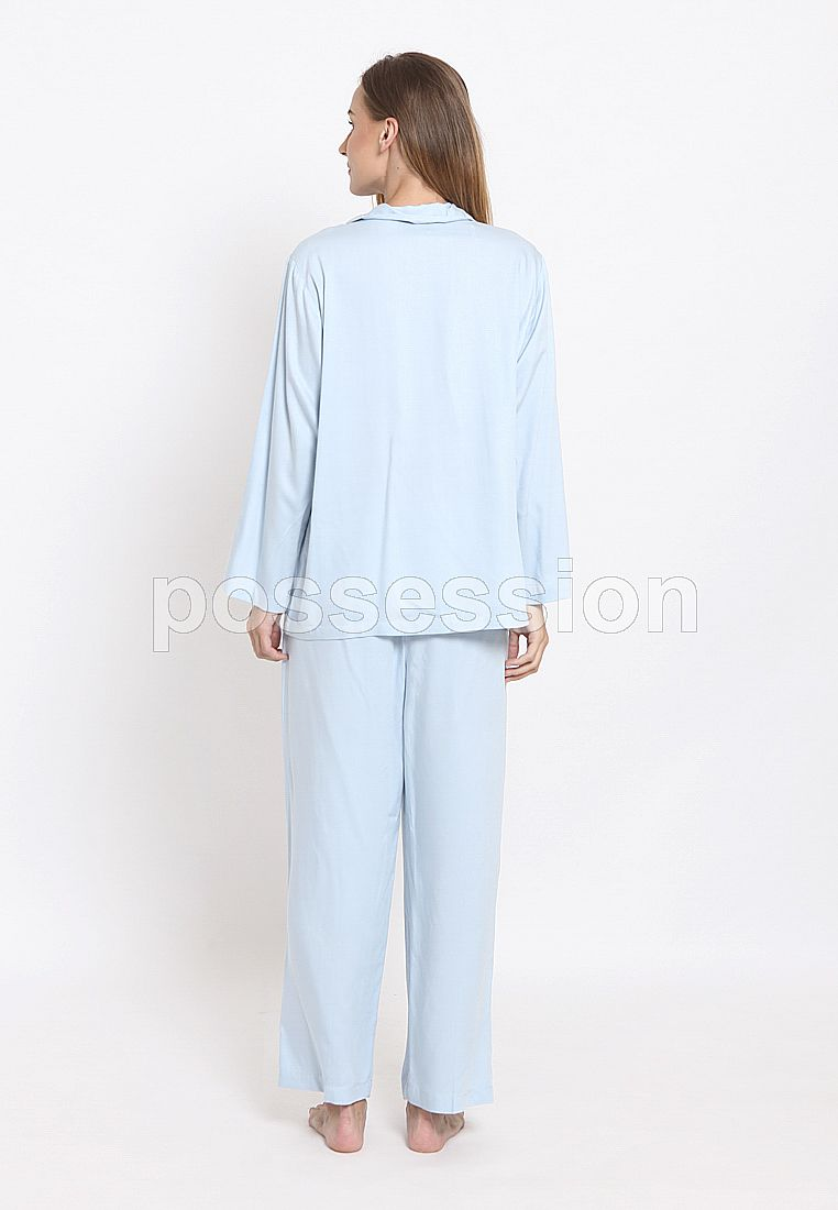 Impression Pajamas Olivia Set 8122 BL