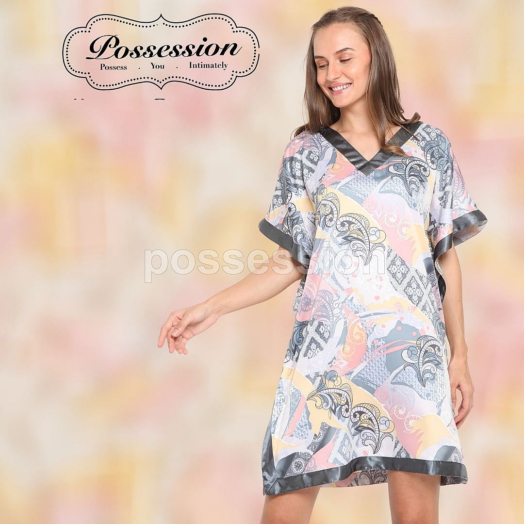 Impression Tracy Nightie 7013 Btk Stn GY