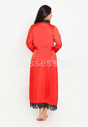 Impression Robe Satin Lace 9089 RD